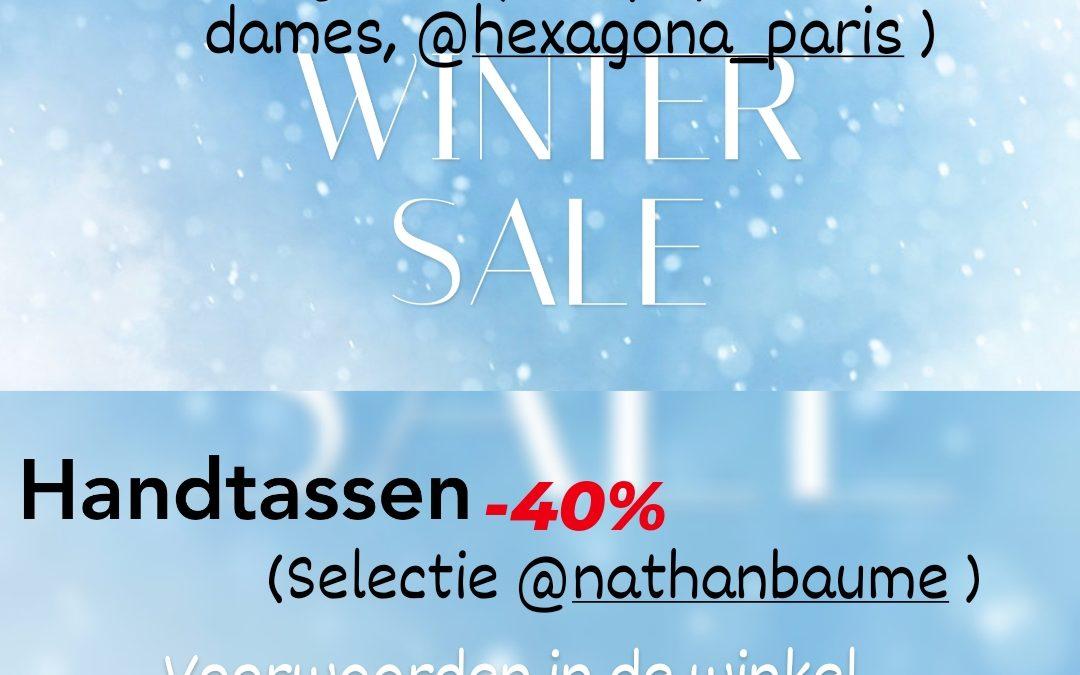 Winter sales zijn gestart!